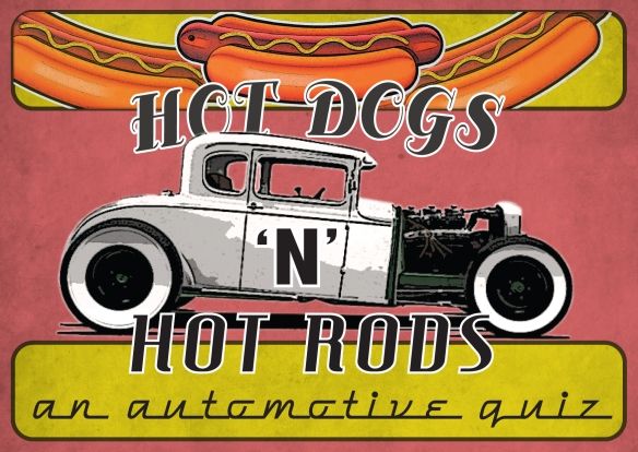 Hot Dogs 'n' Hot Rods – Flyer | jamesjarvisdesign